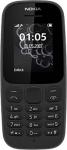Nokia 105 (Dual SIM, Black)